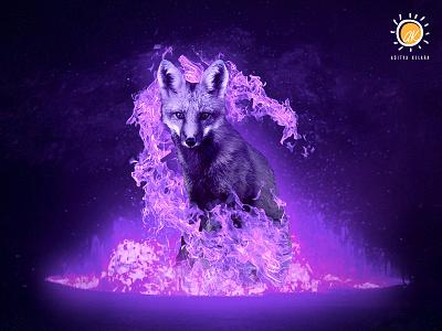 Firefox fantasy wallpapers photo background lightroom poster fire fox creative  design illustration wildlife creative firefox photomanipulation photoshop