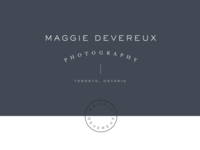 Maggie Devereux Photography Branding