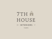 7th House Interiors Branding