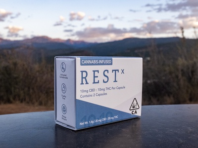 COTC™ Packaging: RestX 2 Pack