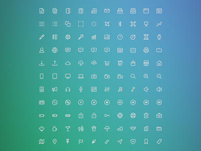 Tense Iconset v1.0 icons vector