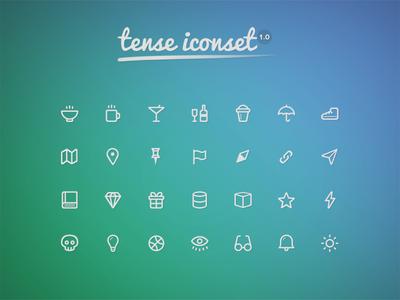 Tense Iconset v1.0