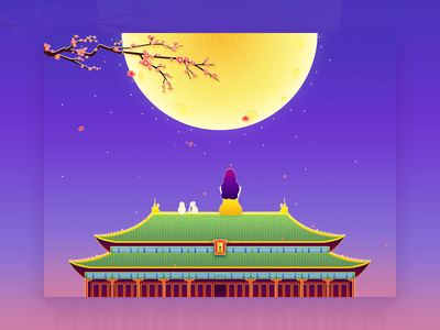 Mid-autumn Festival 3 illustration