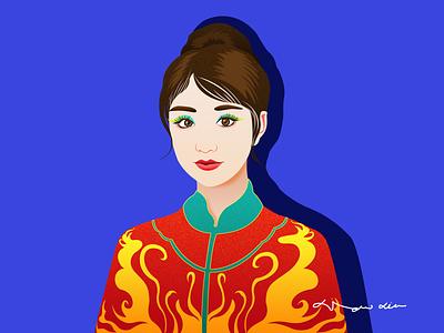 东方美女 illustration