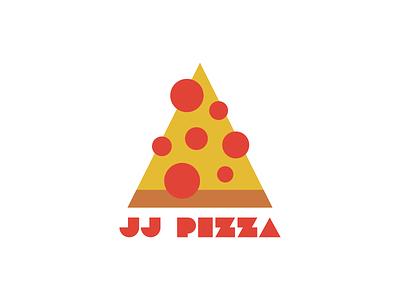 JJ Pizza pizza logo pizza design icon challenge type thirty logo challenge thirty logos logos logo design logo