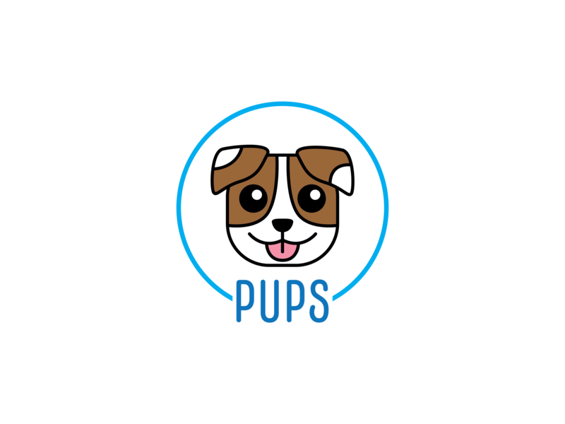Pups puppy dog animals icon design design icon thirty logo challenge thirty logos logos logo design logo