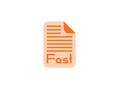 Fast icon design design icon type thirty logo challenge thirty logos logos logo design logo