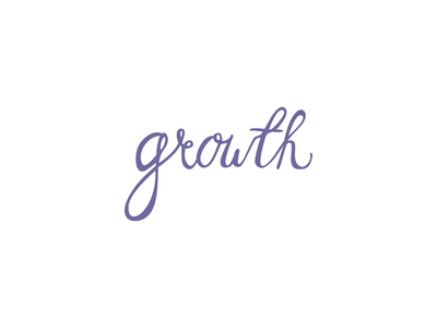 growth graphic design design new goals happy new year hny growth purple adobe illustrator vector lettering hand lettering lettering