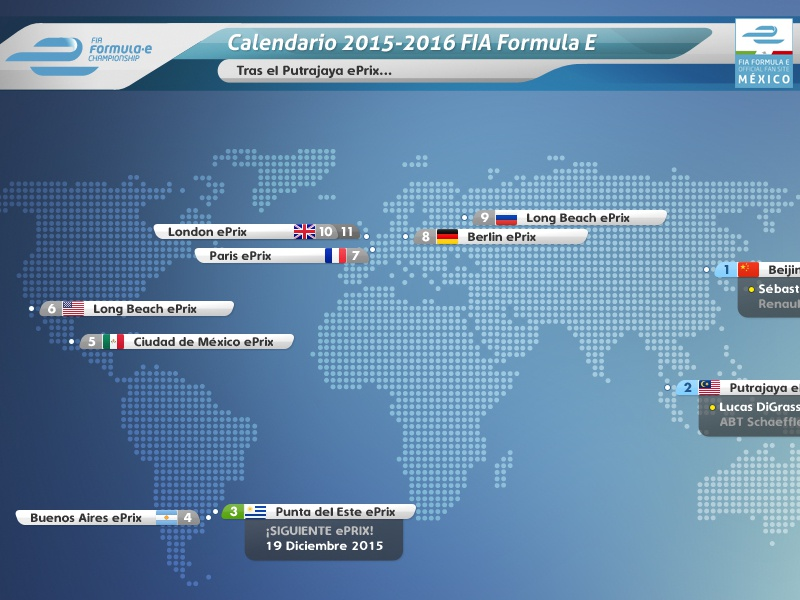 Formula E Calendario.Formula E Fan Site Graphics By Pixteca On Dribbble