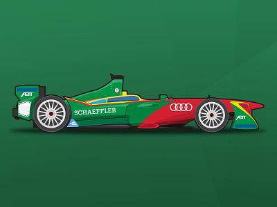 ABT Schaeffler Audi Sport vector livery fia spotters guide illustrator vector abt audi racing motorsport formula e