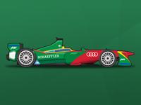ABT Schaeffler Audi Sport vector