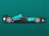 NextEV NIO Formula E Vector