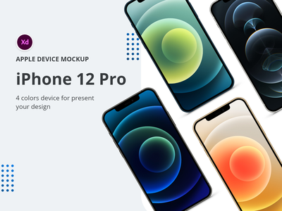 iPhone 12 Pro Device Mockup apple iphone app design ux uiux design uidesign device mockups app mockup mockups mobile app design iphone12
