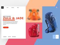 Travel Backpack Website