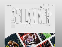 Slam Magazine Re-Design