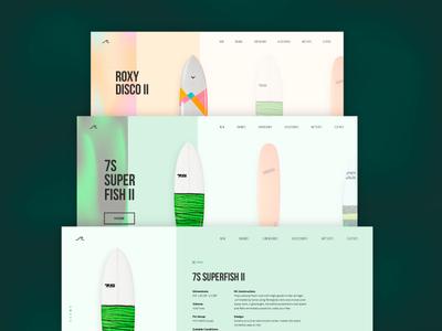 Surf shop web design surf shop minimal ux ui shop surf web design