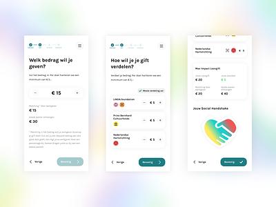 LoonGift 2 pastels progress bar personalized avatar charities