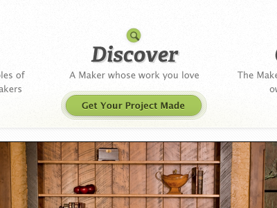 Discover a Maker green buttons