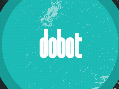 Dobot type (nagasaki with rounded b and d) & color play nagasaki logo typography