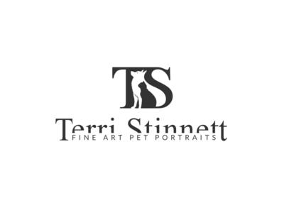 Logo for Terri Stinnett Pet Photography photography identity care pet branding design logo