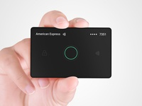 Interactive Payment Card