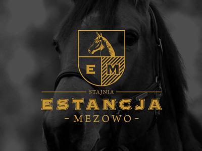 ESTANCJA MEZOWO stable howinnga branding logo stable mezowo estancja