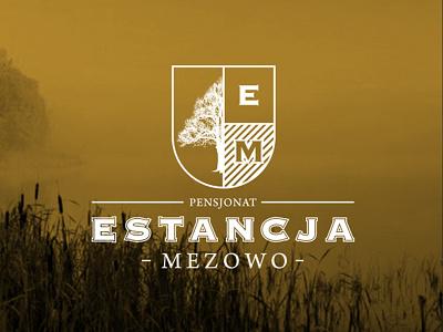 ESTANCJA MEZOWO Guesthouse howinnga branding logo pensjonat house lodging guesthouse mezowo estancja
