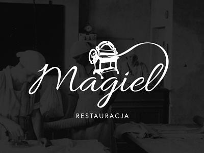 Magiel Restaurant howinnga branding logo mangle restaurant magiel