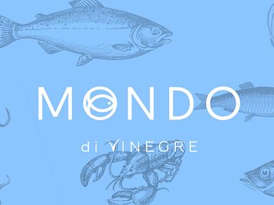 MONDO DI VINEGRE Restauracja howinnga branding logo restaurant restauracja mondo
