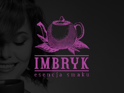 IMBRYK - Internet tea room howinnga logo branding room tea internet imbryk