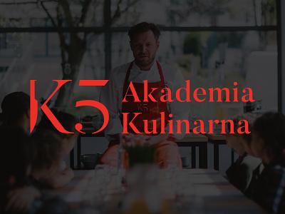 K5 Akademia Kulinarna by Kamil Sadkowski logo howinnga id cook culinary academy akademia kulinarna k5 branding