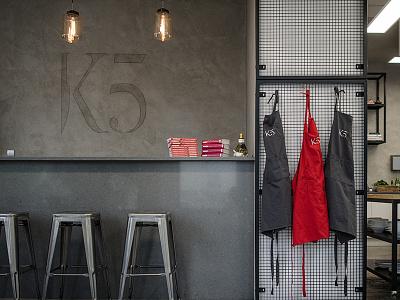 K5 Akademia Kulinarna by Kamil Sadkowski branding k5 akademia kulinarna culinary academy cook id logo howinnga