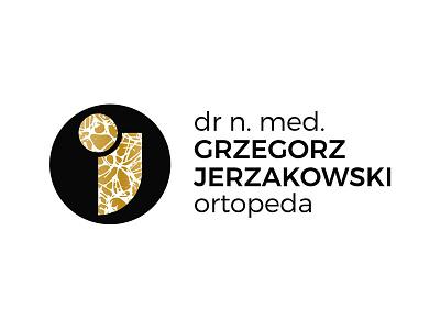 dr n. med. Grzegorz Jerzakowski ortopeda bone tissue bone joint bone orthopedics ortopeda design howinnga sopot id branding logo