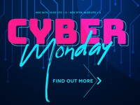 Cyber Monday Sale is ON