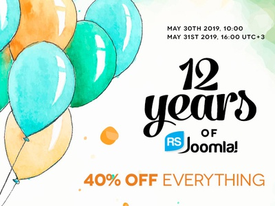 Happy 12 Years of RSJoomla!