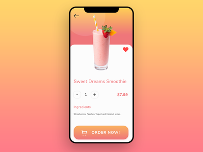 E-commerce Single Item ecommerce app ecommerce business app icon design ui ux adobexd
