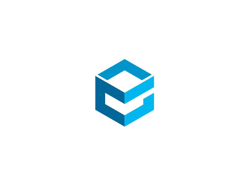Ramo Precedere Mew Mew  cube letter e logo by yopie on Dribbble