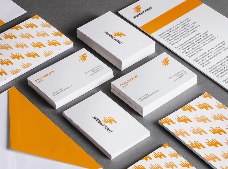 Freight First Branding logo design newpost logodesign branding concept brand identity logo branding
