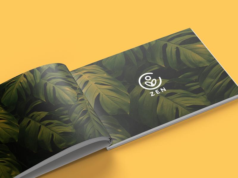 ZEN Brand Guidelines identity design branding and identity zen guidelines guide branding design brandbook branding