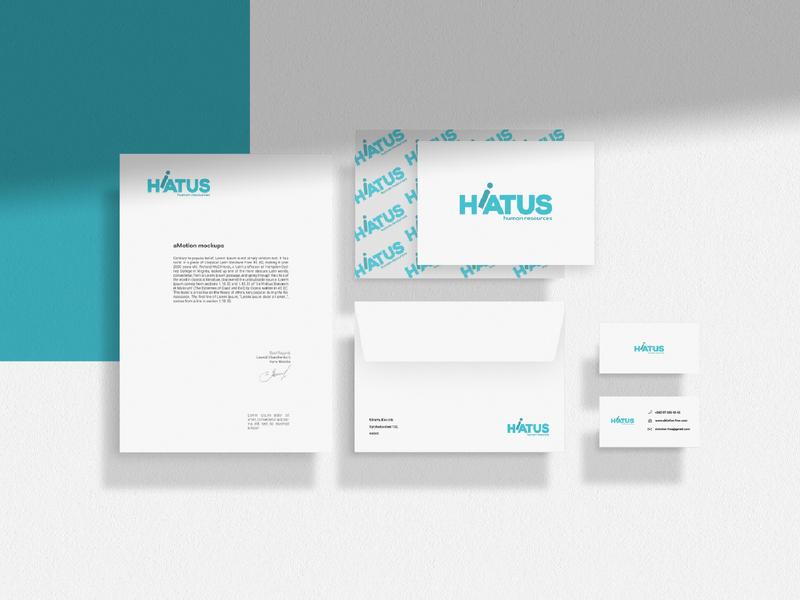 The 30 Day Logo Challenge 26 - Hiatus logo design branding design logocore hiatus hiatuslogo hr project identity branding logotype logodesigner