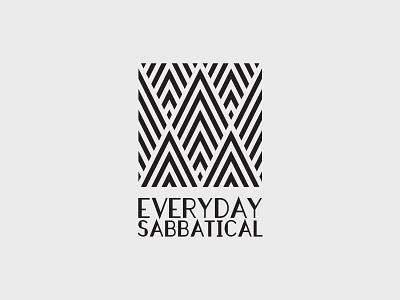 Everyday Sabbatical – Logo Concept A art deco fashion concept logo