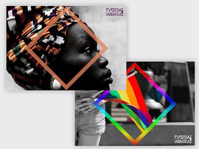 Everyday Sabbatical – Art Direction branding photography logo photography imagery art direction