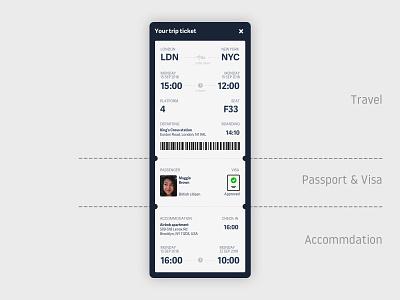 Travel app for Hyperloop mobile ui concept app design