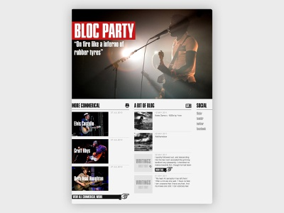 Home Page photogaphy typography web design website design