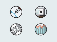 Figmints service icons