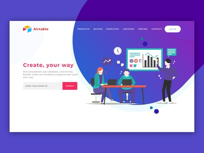 Airtable Landing Page