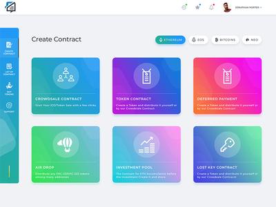 Blockchain UI Design