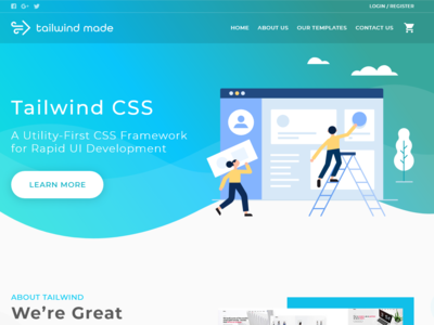 Template Store UI Design
