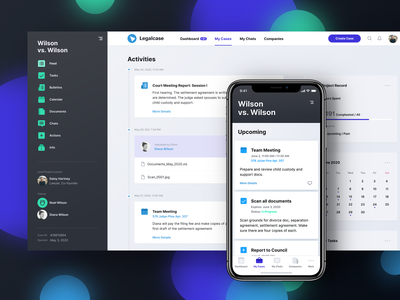 Activity Thread of a Legaltech App