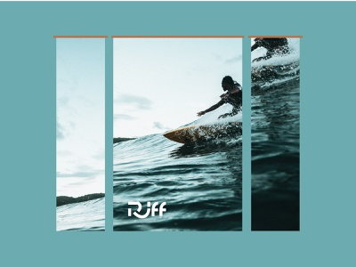 Riff Surf Co. // Window Posters // Storefront
